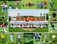 Super Juniors Soccer Camp Group 1 2011